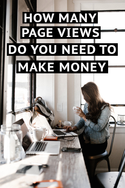New bloggers always want to know how many page views it takes to make money. I'm going to give you the answer as well as break it down for you to understand.