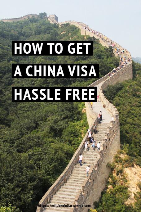China visa application guide